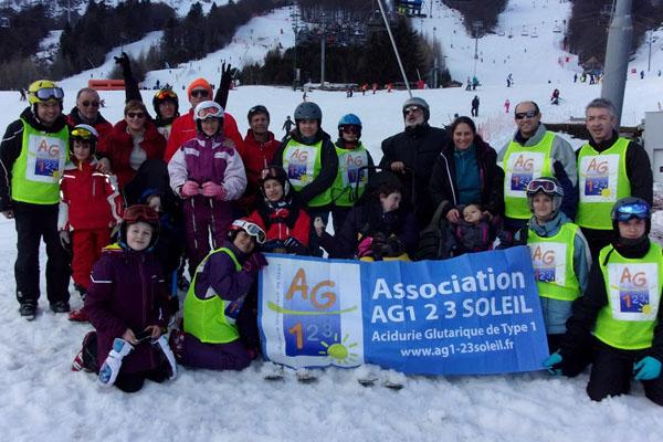 Les AG1 font du ski
